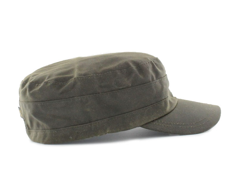 Mucros Weavers Fisherman Wax Cap Olive