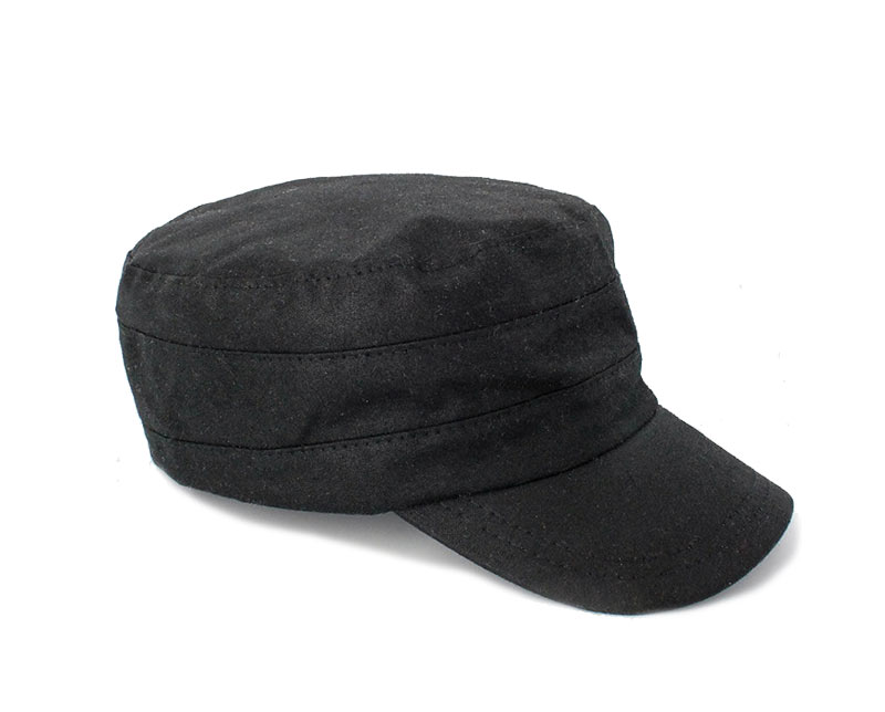 Mucros Weavers Fisherman Wax Cap Black