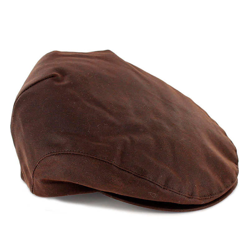 Mucros Weavers Trinity Cap Wax-Brown