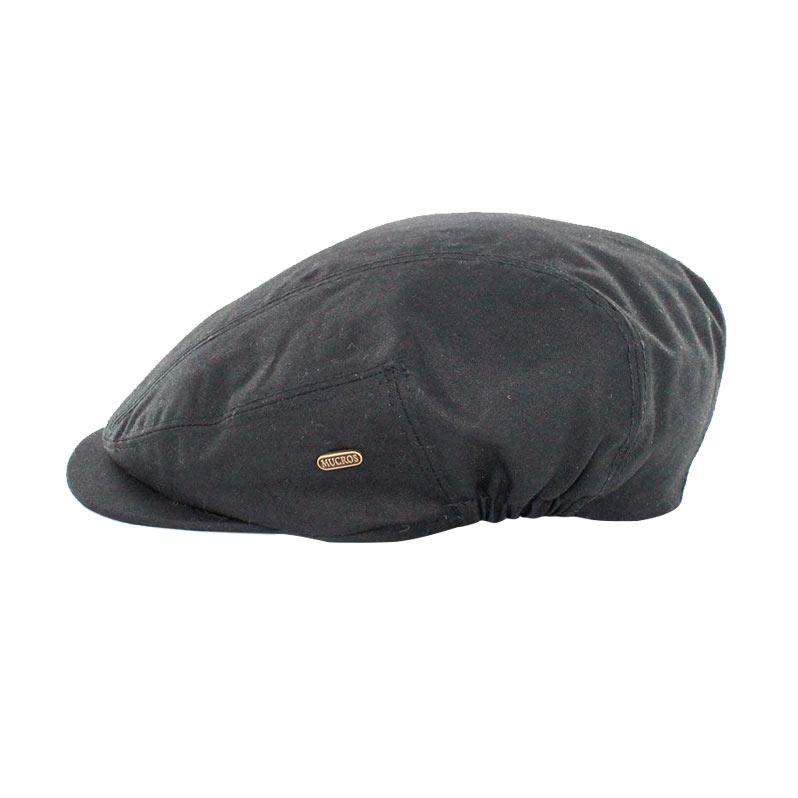 Mucros Weavers Kerry Cap wax black