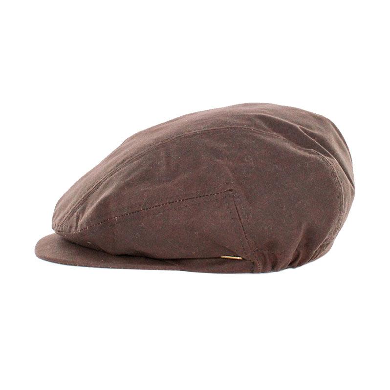 Mucros Weavers Kerry Cap wax brown