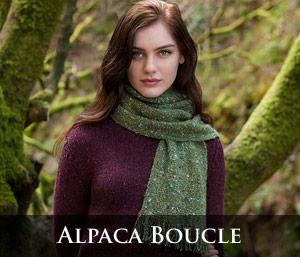 Alpaca Boucle Scarves