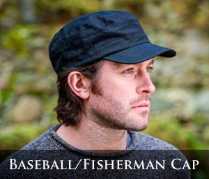 Mucros Weavers Baseball and Fisherman caps