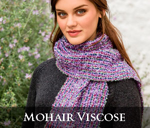 Mohair Viscose Scarves
