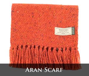 Mucros Weavers Aran Scarf