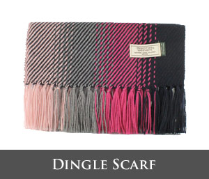 Mucros Weavers Dingle Scarf DS4
