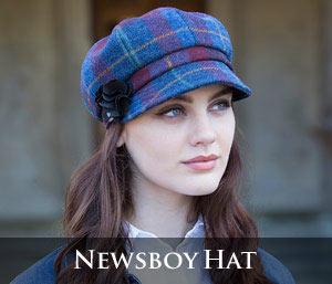 Mucros Weavers Newsboy Hat