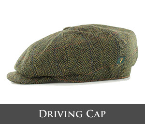 Mucros Weavers Driving Cap