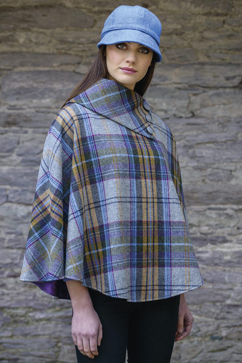 Mucros Weavers Poncho 203
