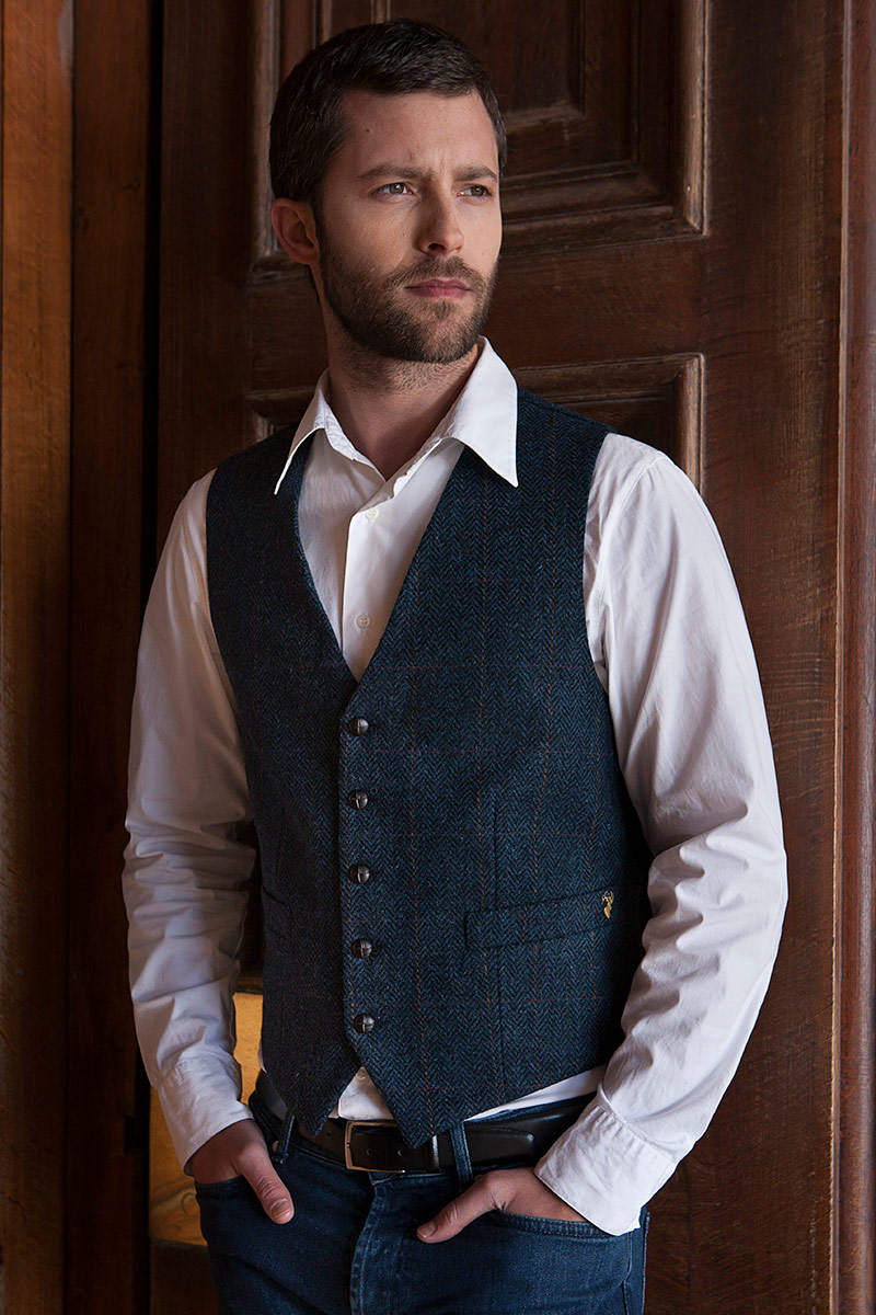Mucros Weavers waistcoat 34