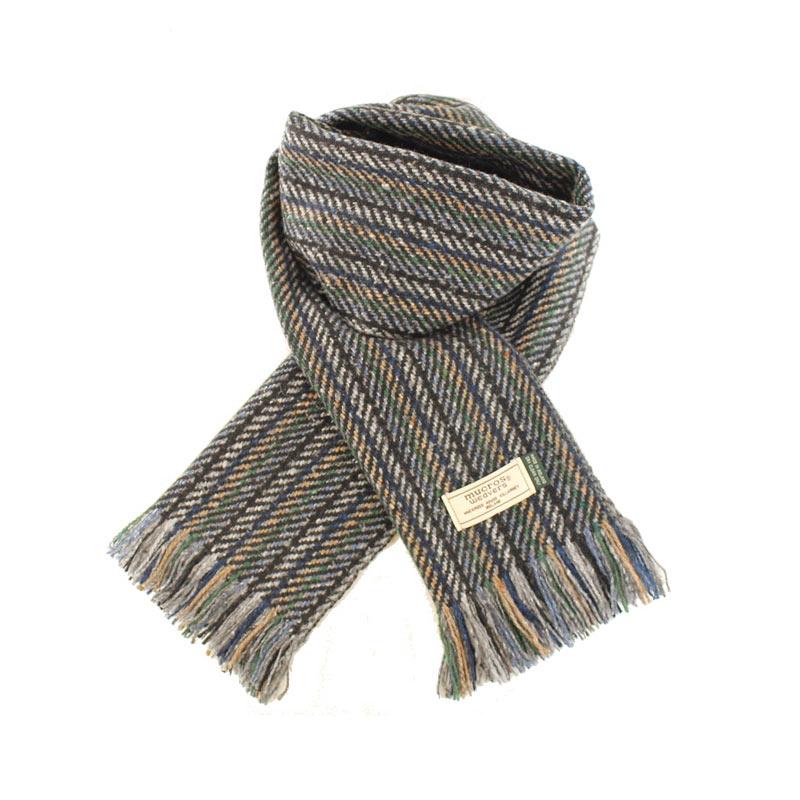 Mucros Weavers donegal tweed scarf DT42