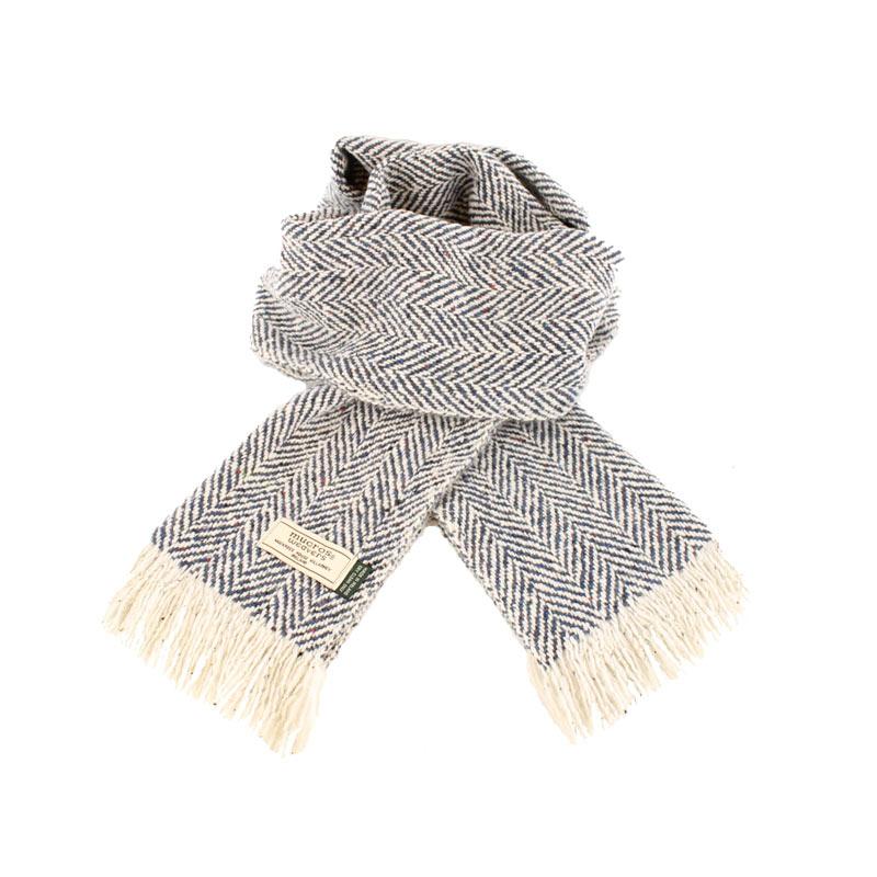 Mucros Weavers donegal tweed scarf DT55