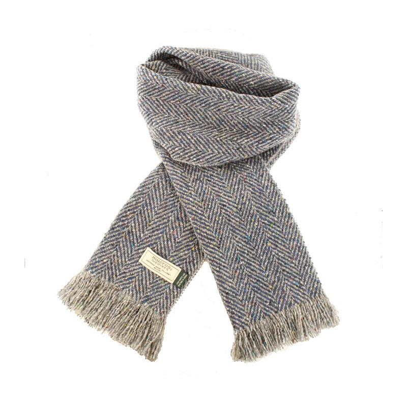 Mucros Weavers donegal tweed scarf DT59
