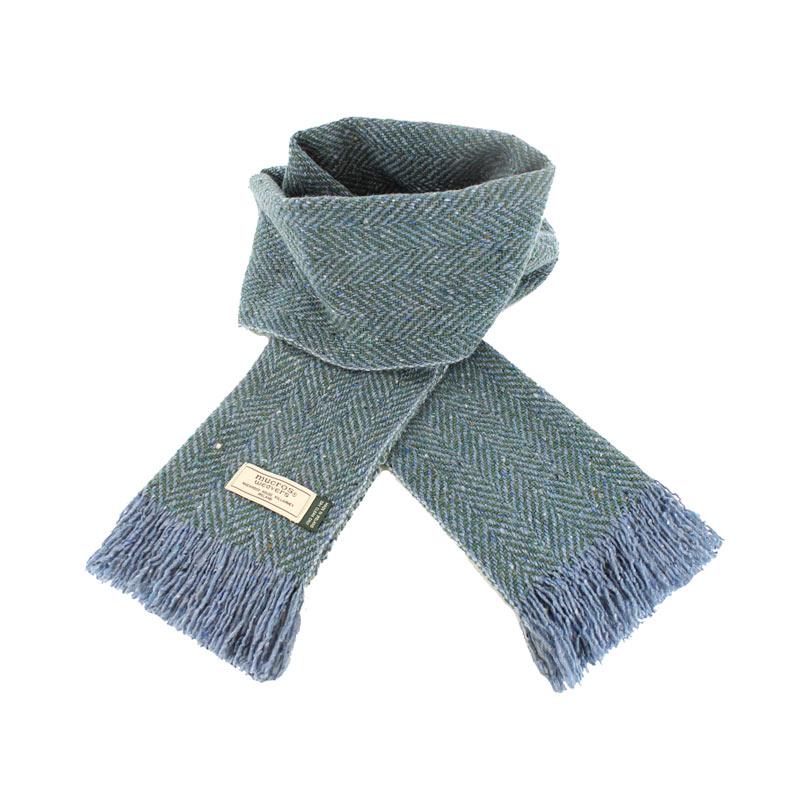 Mucros Weavers donegal tweed scarf DT62