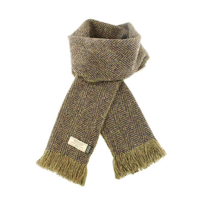Mucros Weavers donegal tweed scarf DT64