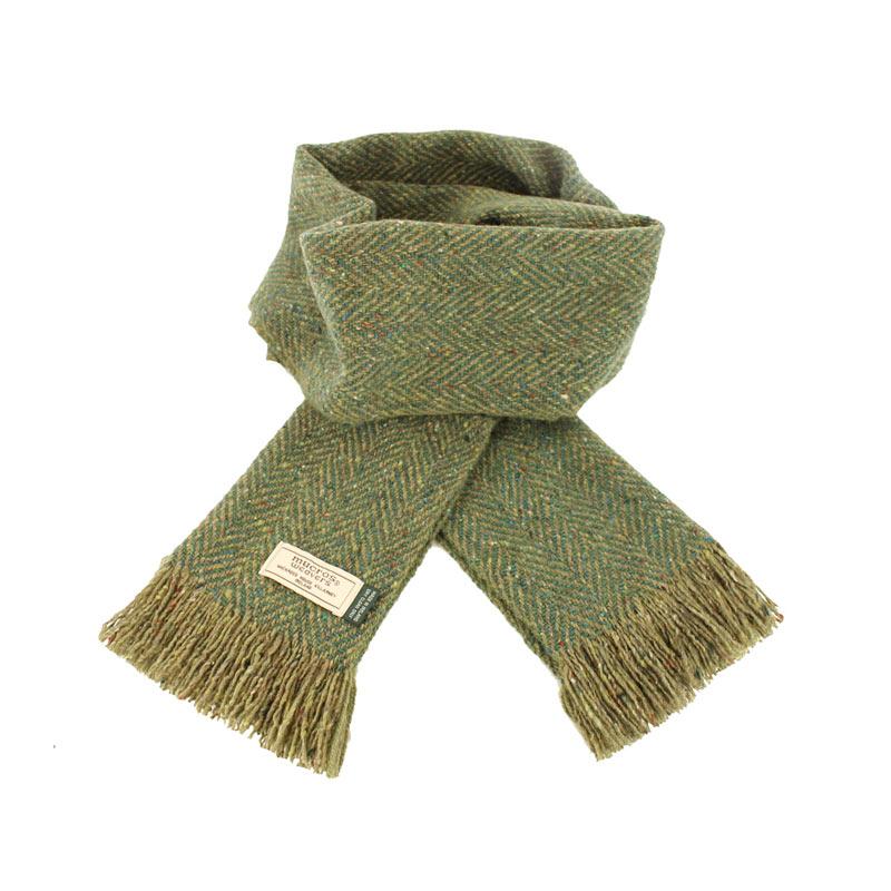 Mucros Weavers donegal tweed scarf DT65