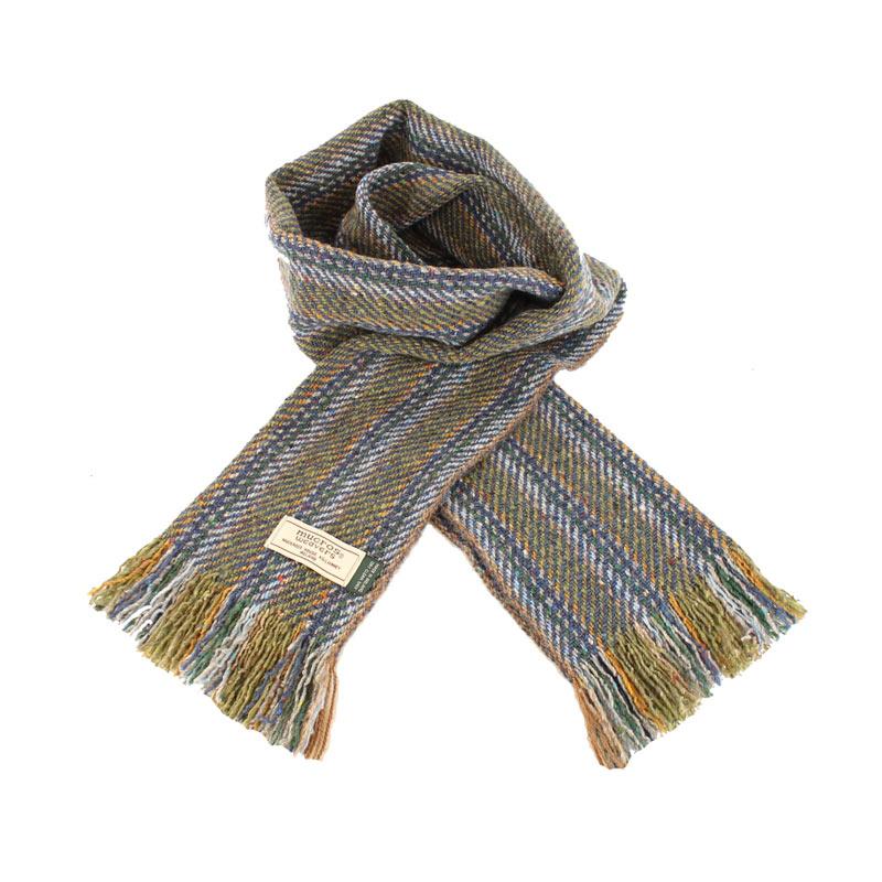 Mucros Weavers donegal tweed scarf DT67