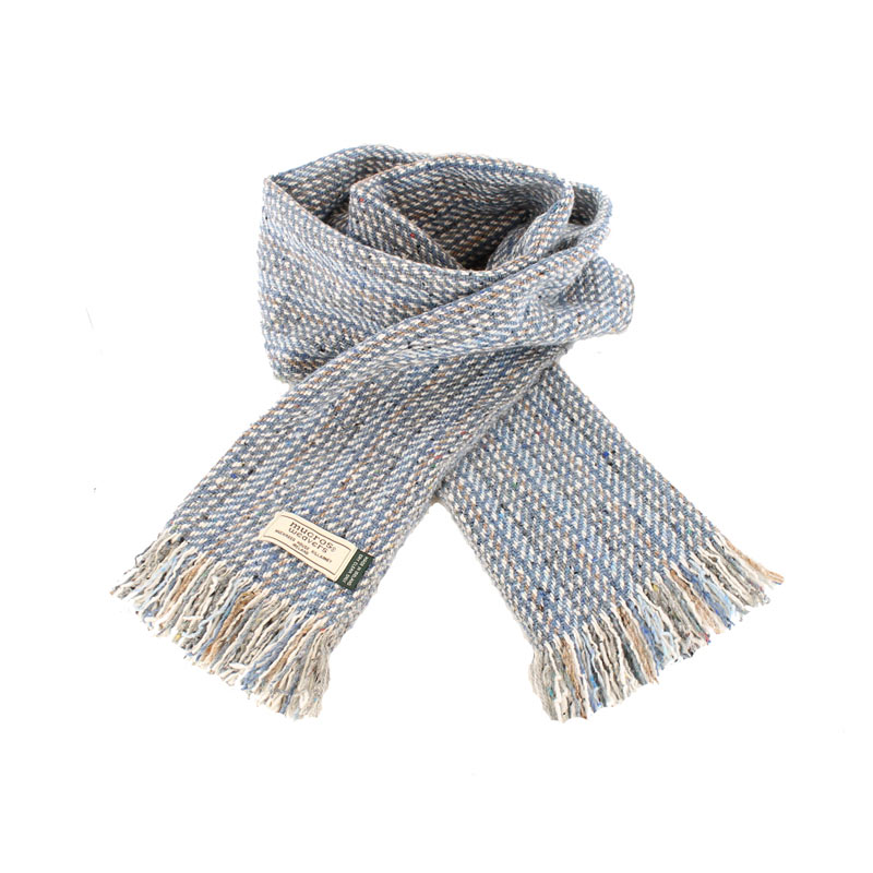 Mucros Weavers donegal tweed scarf DT70