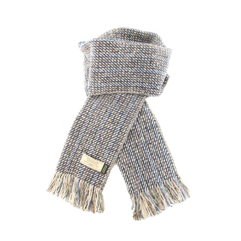 Mucros Weavers donegal tweed scarf DT71