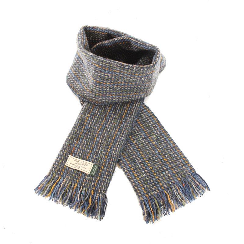 Mucros Weavers donegal tweed scarf DT72