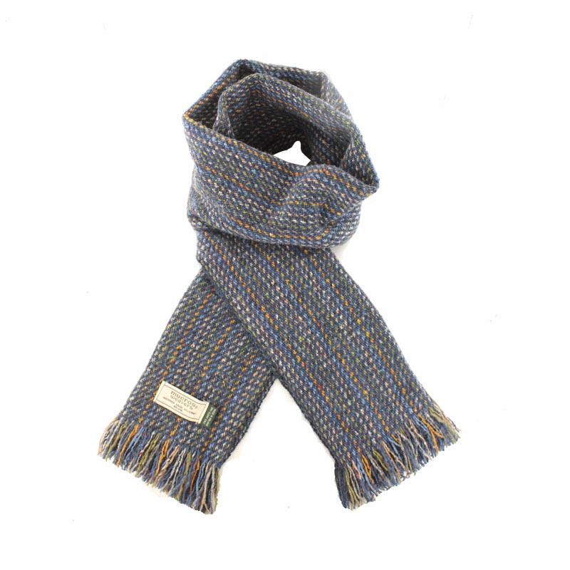 Mucros Weavers donegal tweed scarf DT73