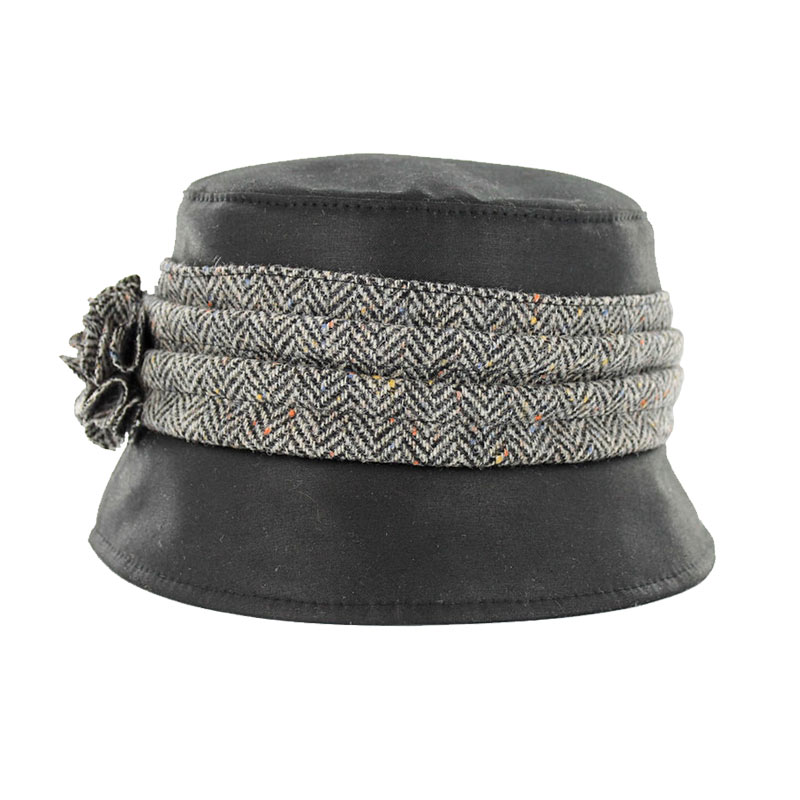 Mucros Kate Wax Hat black