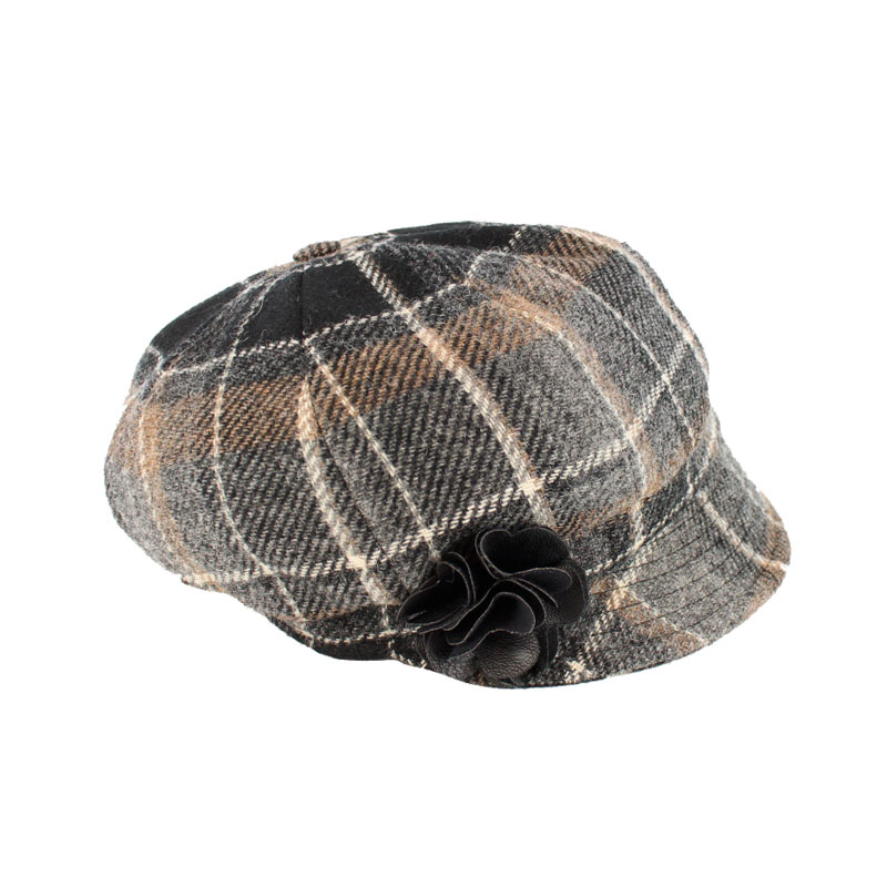 Mucros Weavers Newsboy Hat 21