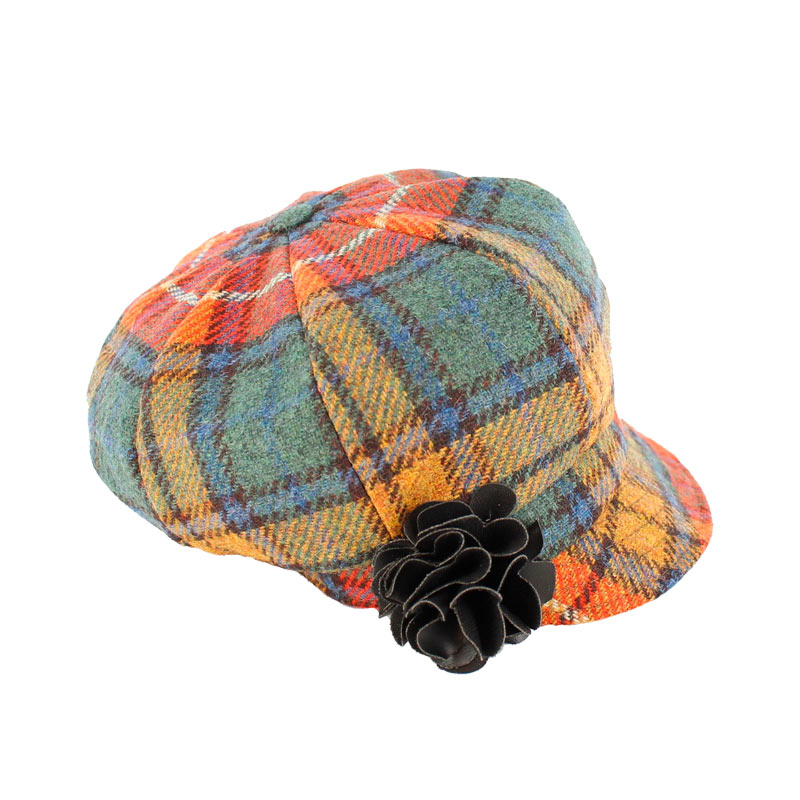 Mucros Weavers Newsboy Hat 60