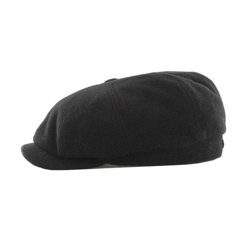 Mucros Weavers Driving Cap black