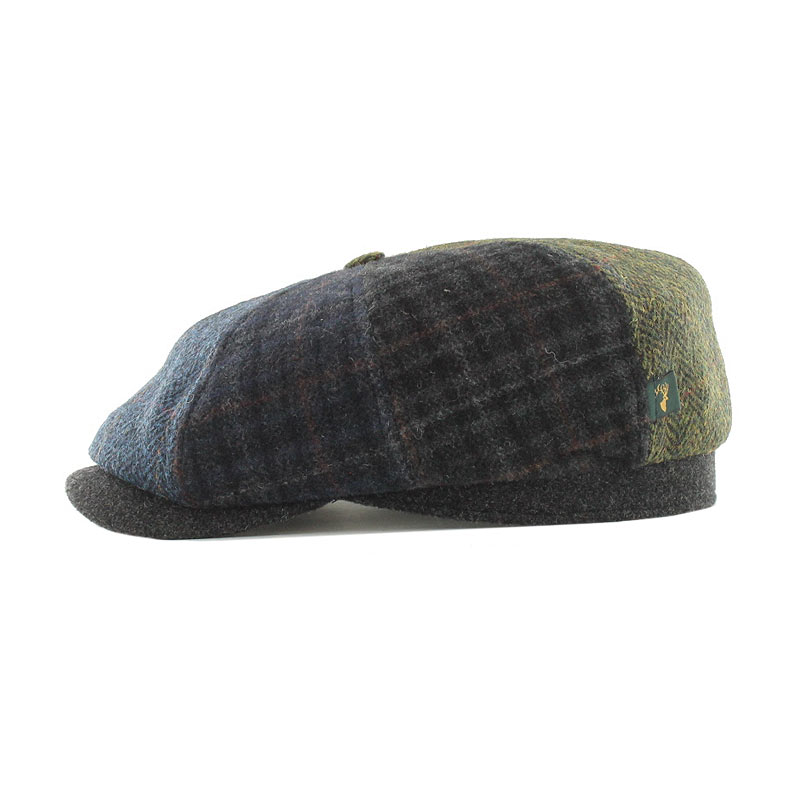 Mucros Weavers Driving Cap patch