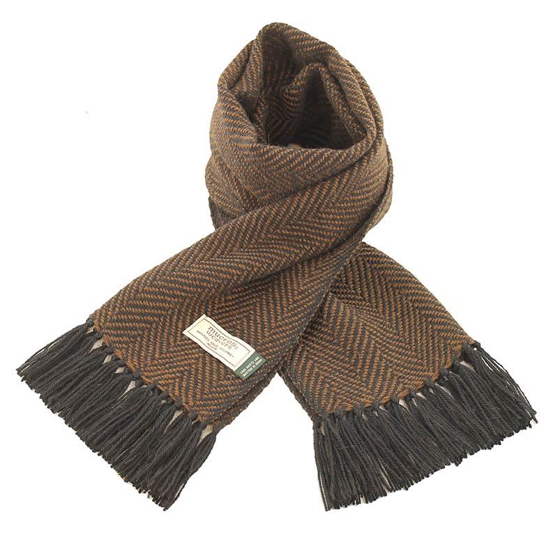 Mucros Weavers Alpaca Scarf A6