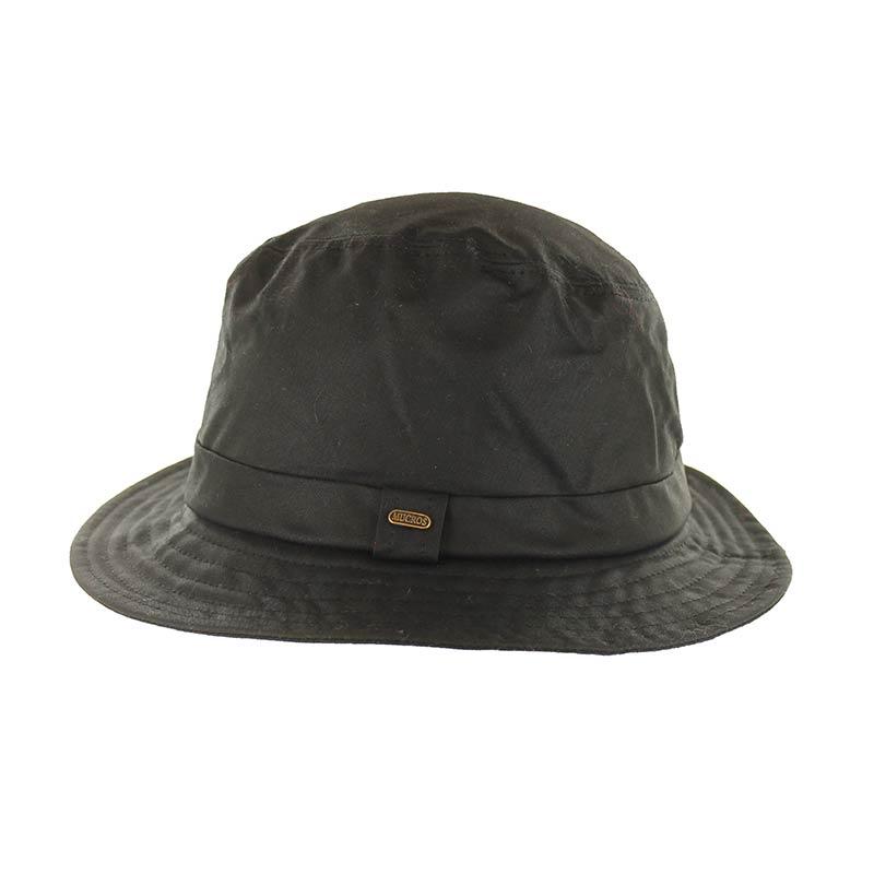 Mucros Weavers Rain Hat Wax Black